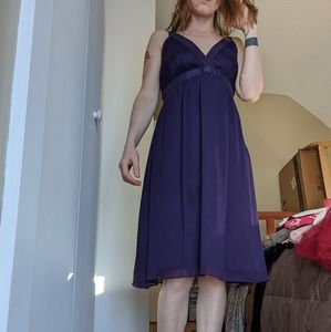 Size 8 The Limited purple dress
